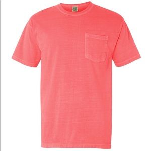 New Comfort Color Pocket T-Shirt - Watermelon